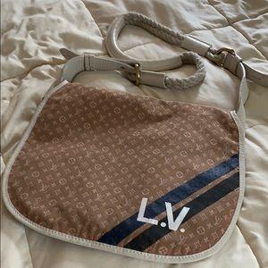 Vintage Louis Vuitton shoulder work bag!